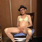 Exposed Faggot Pervert Slut Wears Fedora And Panties