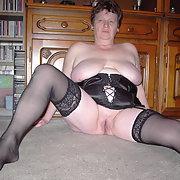 Meine geile Gaby zeigt sich allen BBW amateur with big boobs