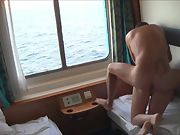Fucking in our cabin while enjoying a cruise