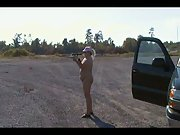 WIFE PLAYING WITH GUN