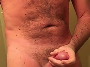 Stroking my cock until I cum, Feel my ball squeeze