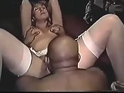 Addie from Pennslyvania in very rare hot interracial Home video