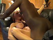 Slut wife making porn with black wifelover
