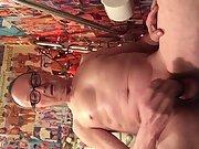Exposed Faggot Pervert Slut Eats Another Cumwad From Rubber