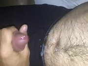 Jerking off after seeing a video of tits