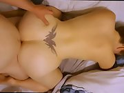 Sensational amateur PAWG got done doggystyle