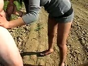 cum in outdoor real amateur public sex with gypsy girl