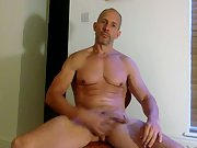 Jerking off on camera watch and hear me cum while naked