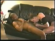 Husband recording his cute wife with black lover she really excited