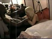 White amateur fucked by black