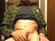 Exposed Faggot Pervert Slut Beats His Meat