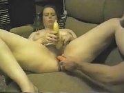 Wife Enjoys Marinating Vegetables for Dinner Orgasms a plenty