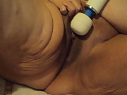 mature amateur bbw cam show having fun with vibrator