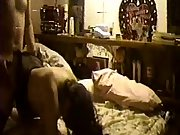 Amateur home sex tape of couple fucking