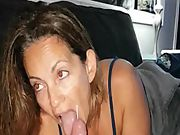 Girlfriend milf blowjob facial