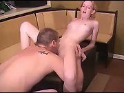 Nice blonde getting fucked