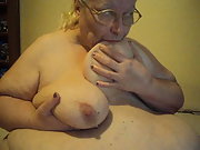 I love to play with my big tits juggs who is next to cop a feel