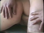 One long horny fucking amateur sex session all around the house