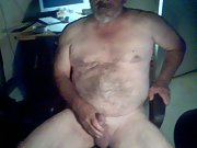 STROKING MY COCK ON WEB CAM