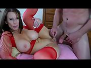 Big tit wife talking dirty during intense missionary sex