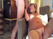 Exhibitionist Horny Granny at it again with hotter video