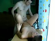 Warm up in the kitchen girlfriend banged hard on work top counter