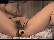 She reaches orgasm when he shots in her mouth