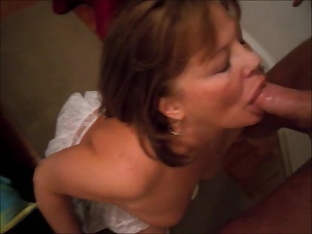mature Cum on wife chubby