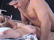 MILF WIFE FUCKS YOUNG GUY IN MISSIONARY, ASKS FOR ANAL WHILE HUSBAND FILMS