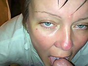 Cumming in cassies mouth while looking in her eyes